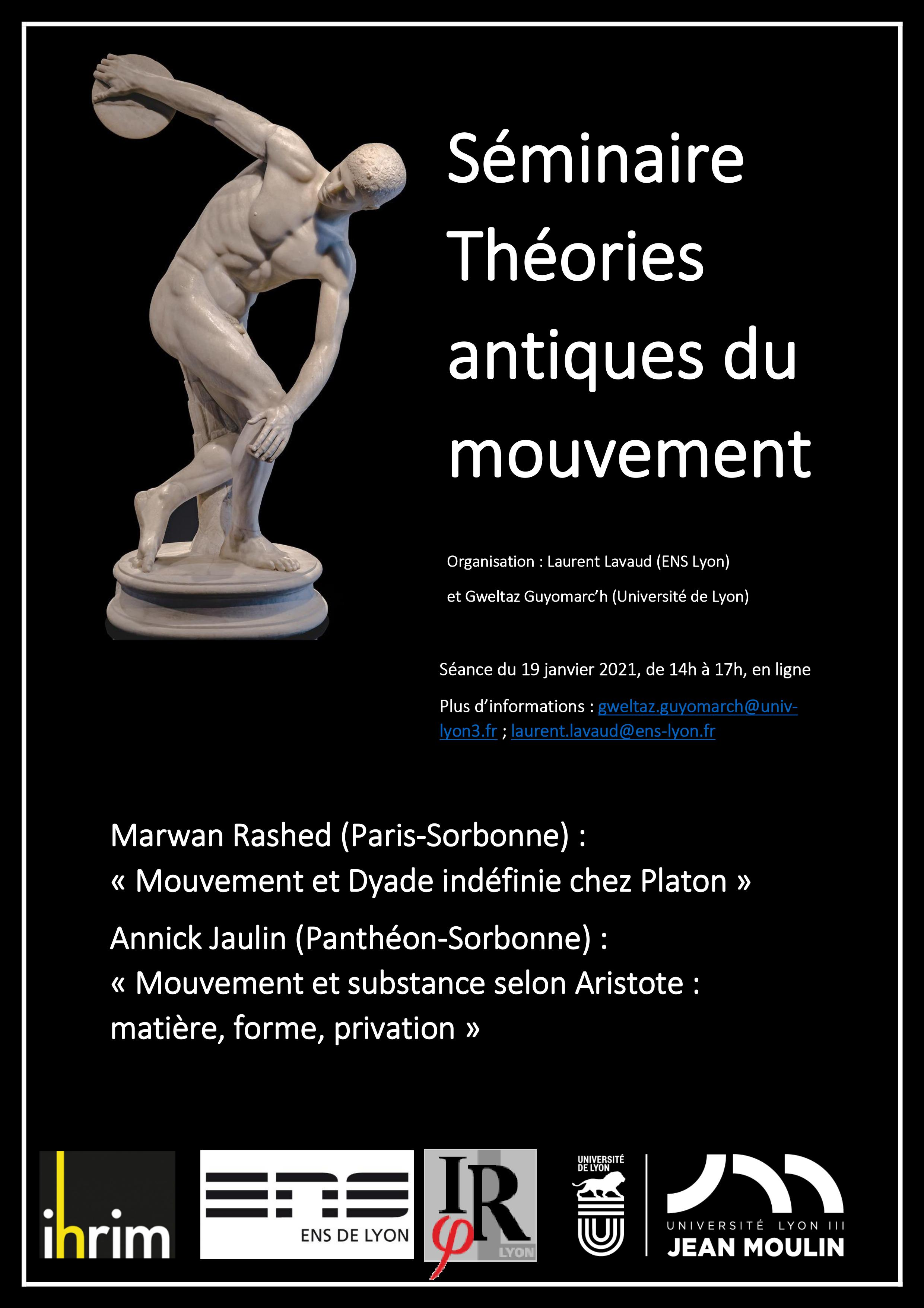 Séminaire Théories Antiques du Mouvement 2