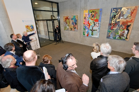 Exposition d'oeuvres de Jean-Marc Scanreigh