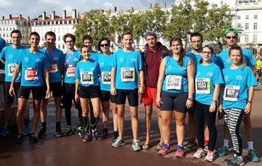 Groupe run in Lyon 2016