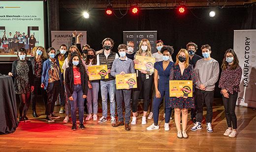 Concours J'M Entreprendre  © David Venier - Université Jean Moulin Lyon 3