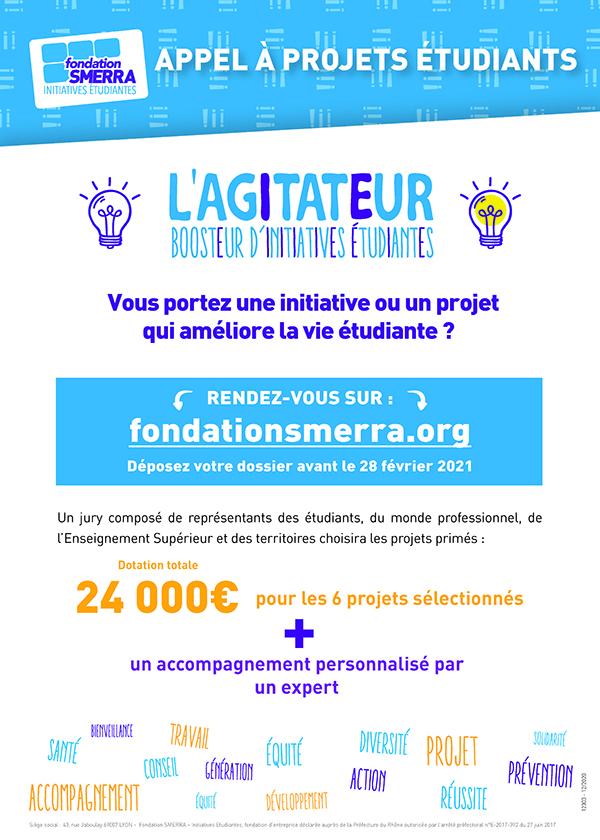 Agitateur concours de la fondation SMERRA