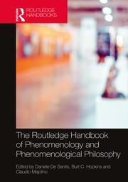 Handbook of phenomenology