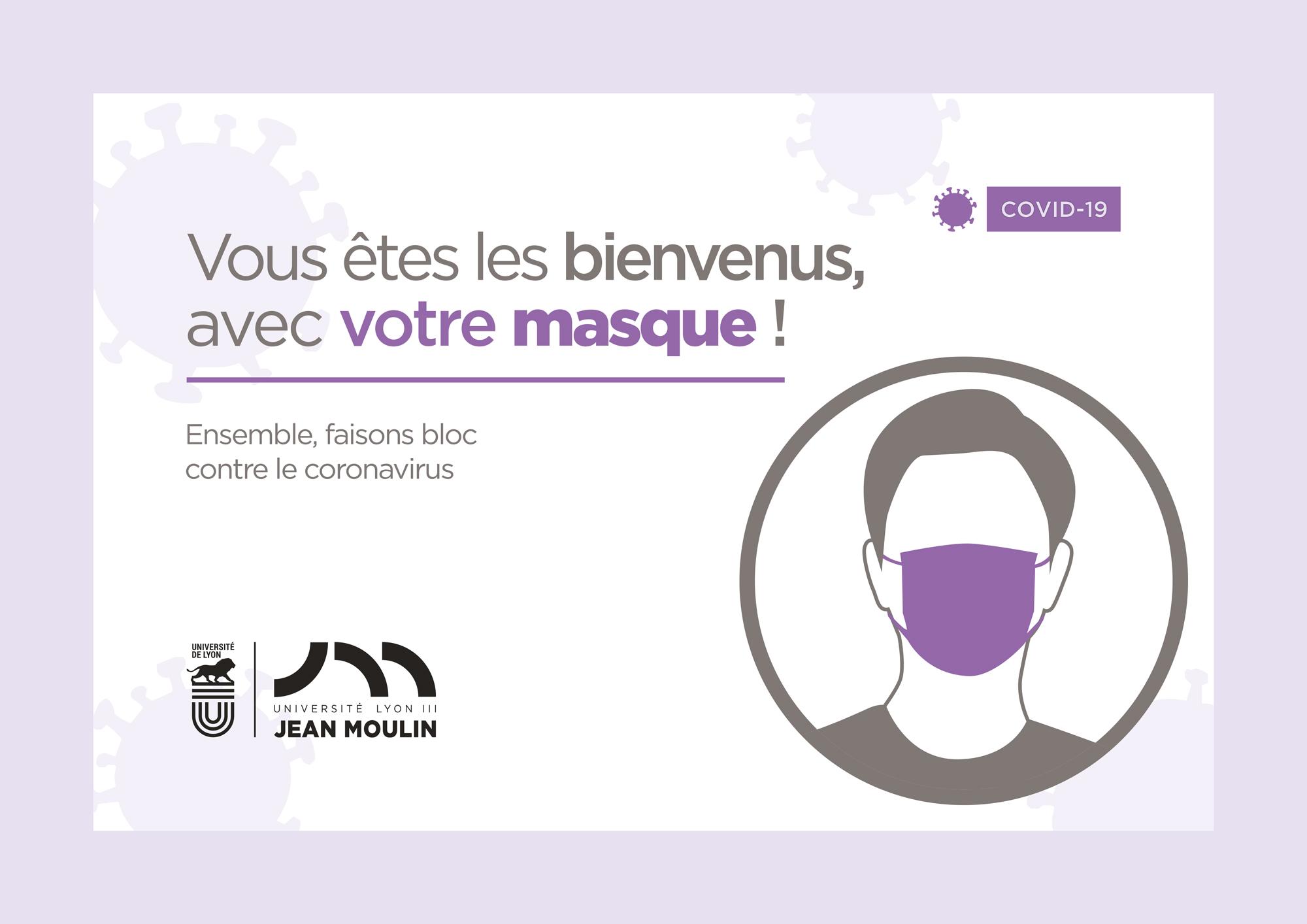 Affiche Masque Lyon 3