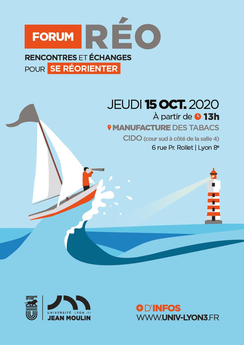 Forum Réo : rencontres et échanges pour se réorienter