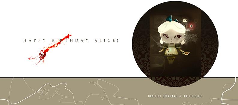Happy Birthday Alice!! © Ahtzic SILIS