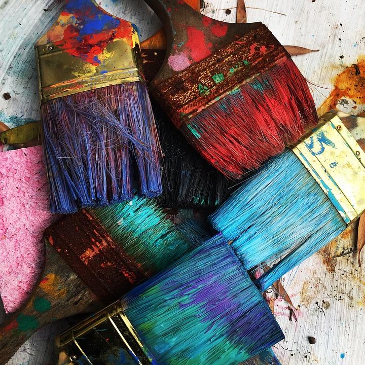 Arts plastiques - Pinceaux
