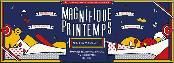 Magnifique Printemps | 9 au 24 mars 2019