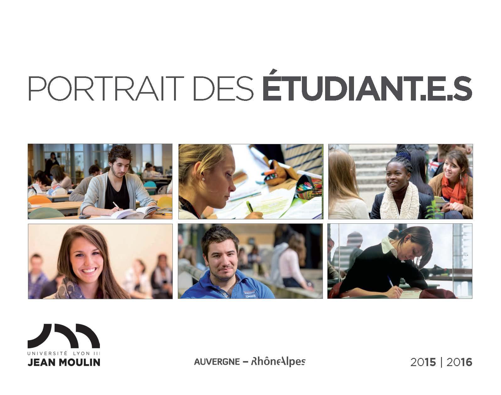 Portrait des étudiant.e.s 2015-16