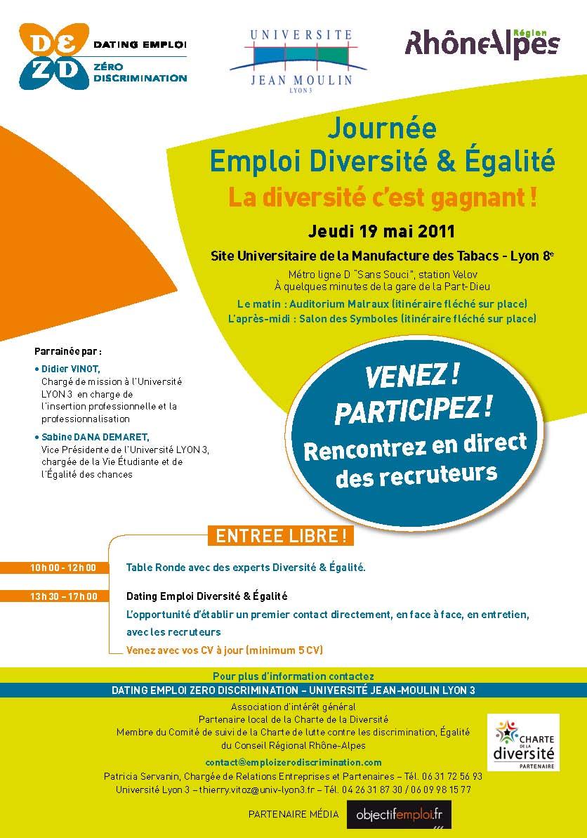 Journée Emploi Diversité & Égalité