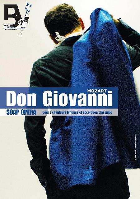 Don Giovanni par l'Ensemble Brins de Voix | Mozart | Soap opéra pour 7 chanteurs lyriques et accordéon classique