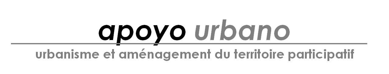 Logo Apoyo Urbano - Urbanisme et aménagement du territoire participatif