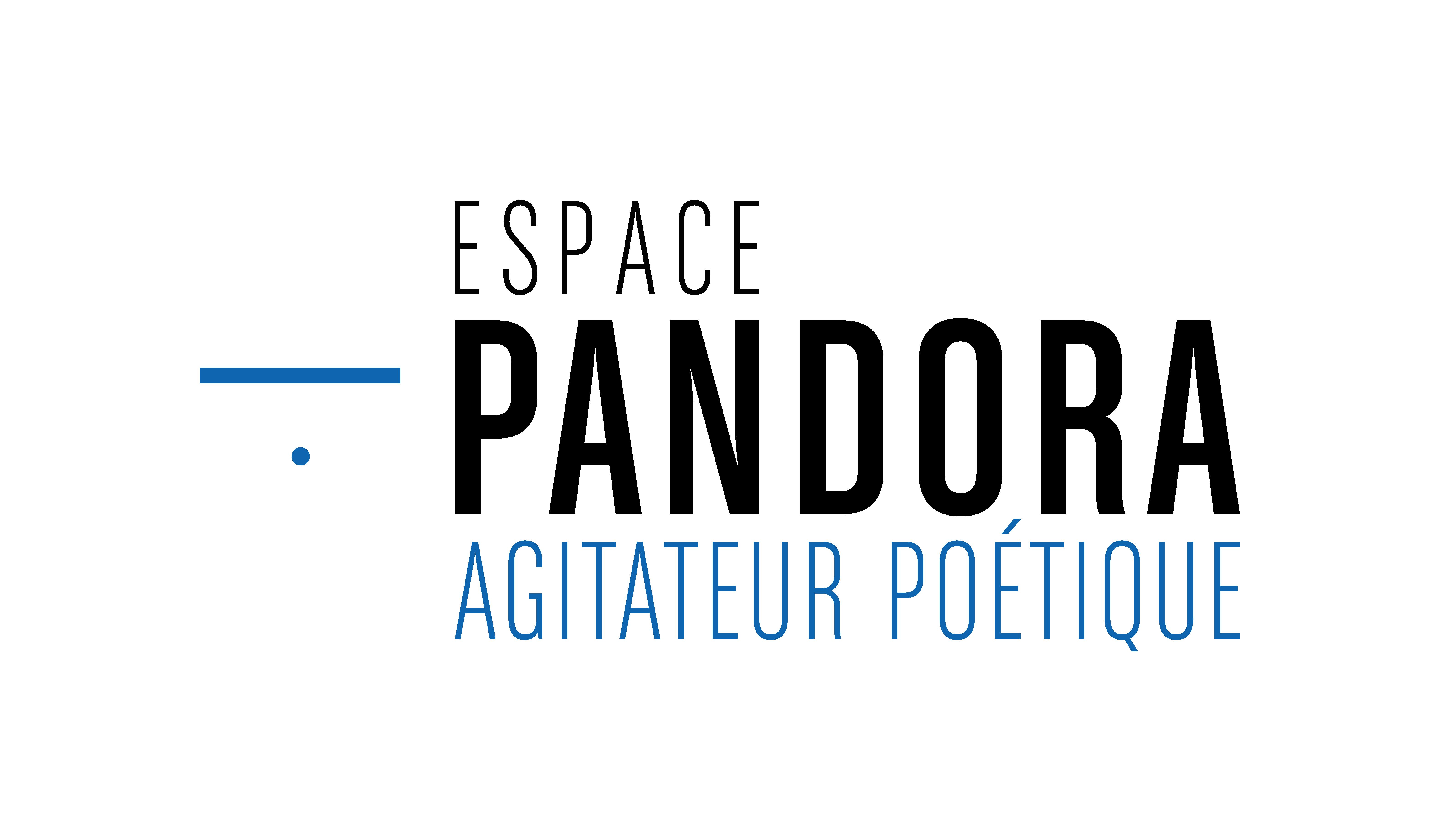 Logo Espace Pandora - Agitateur poétique