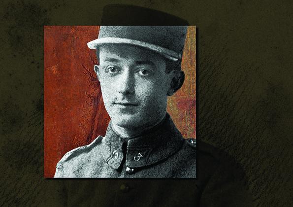 La Faculté de Droit dans la Grande Guerre - visuel de l'affiche de l'exposition