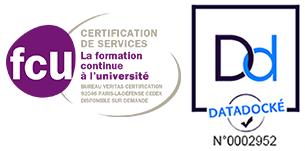 Certifications FCU et Datadock