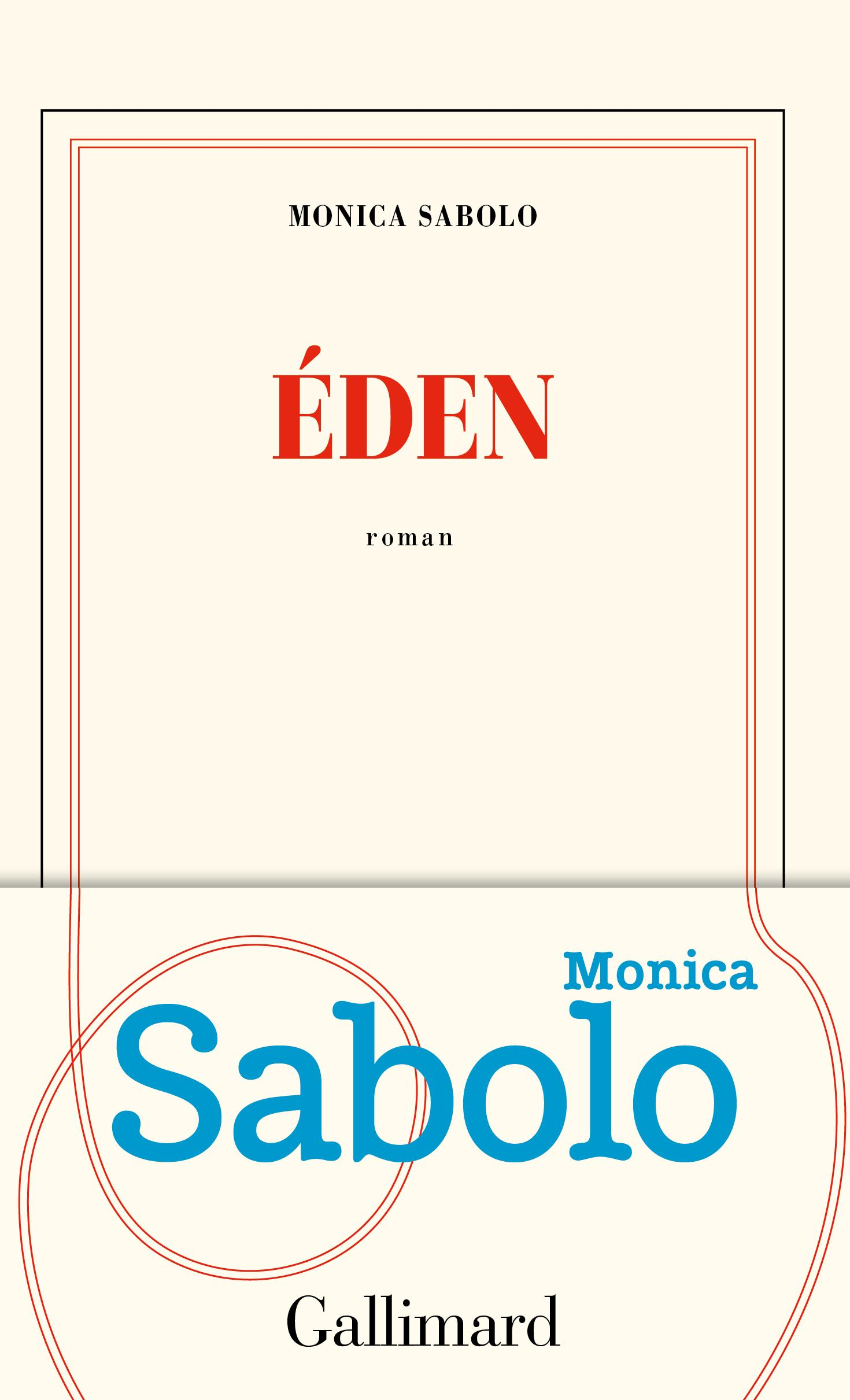 Couverture du roman de Monica SABOLO - Eden