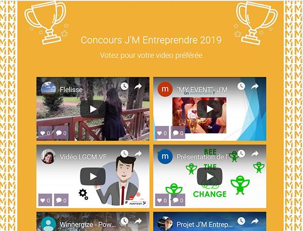 Concours J'M Entreprendre