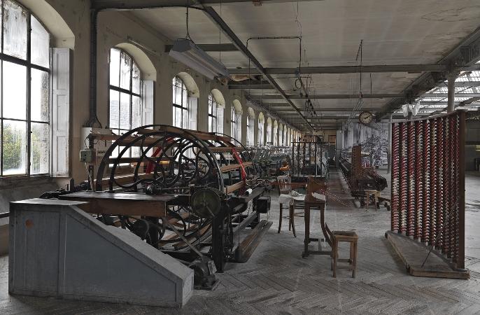 Manufacture de soierie Claude Joseph Bonnet, Jujurieux ©Eric DESSERT