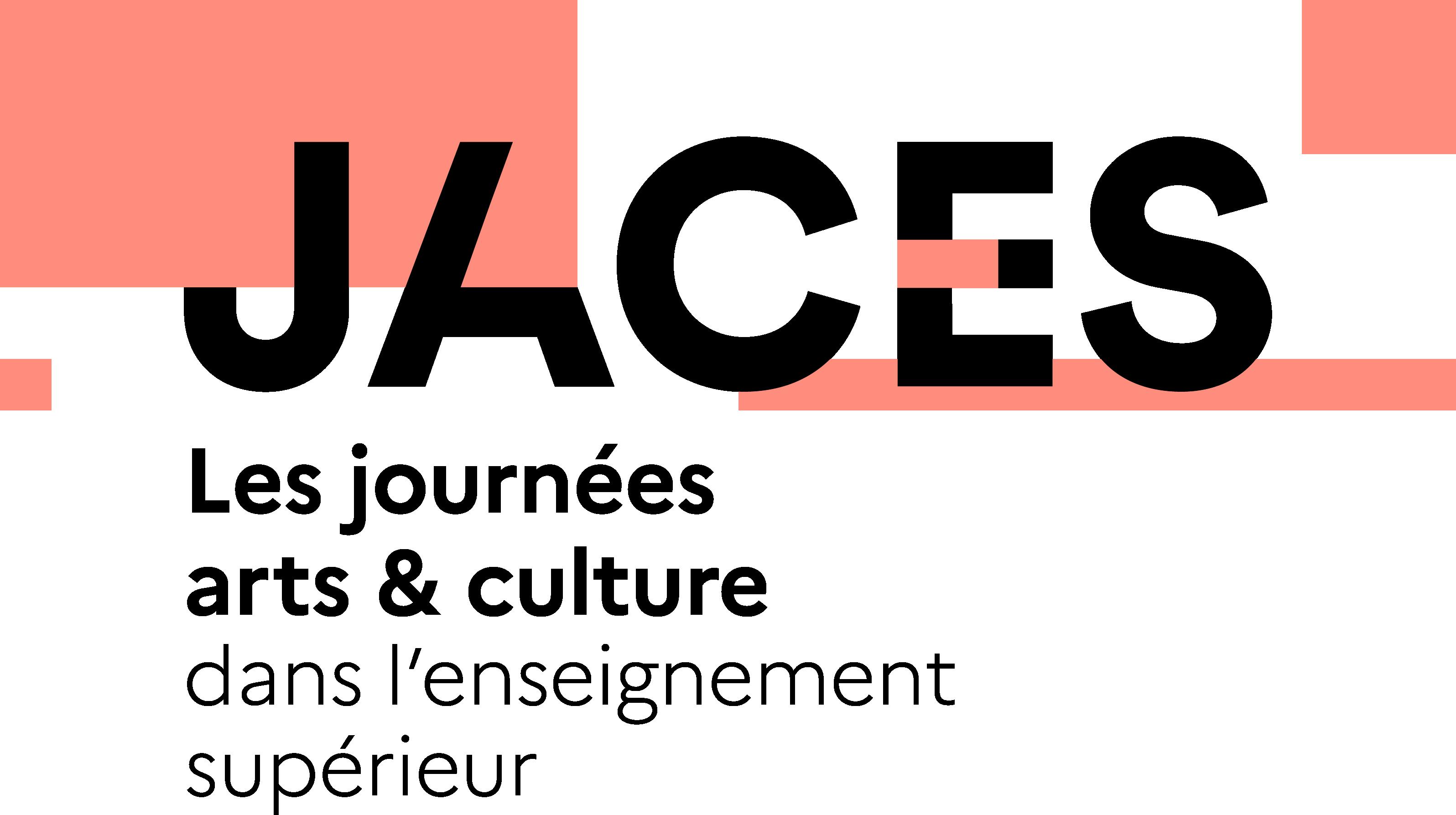 Logo JACES - Les Journées Arts et Culture dans l'enseignement supérieur