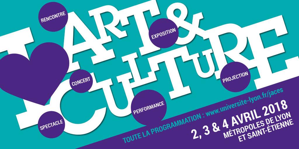 Journées des Arts et de la Culture dans l'Enseignement Supérieur | 2019