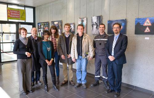 Photo des lauréats du concours photo Insolite - Université Jean Moulin Lyon 3