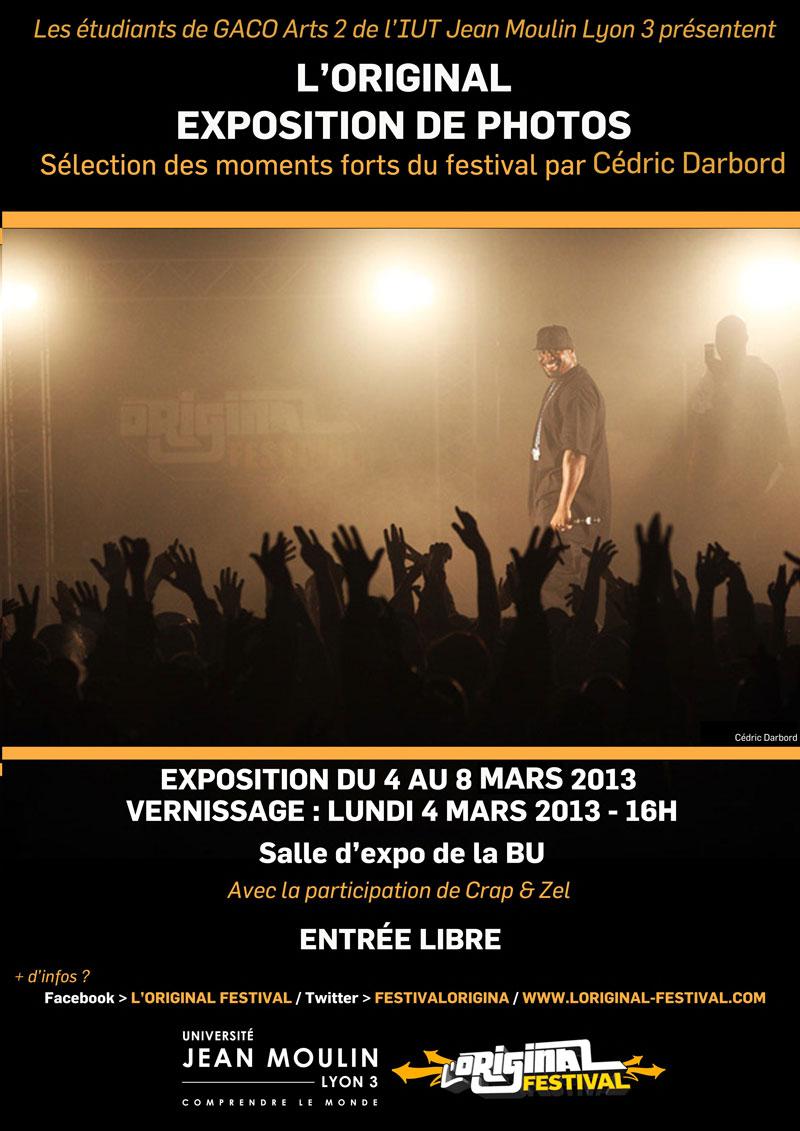 Visuel affiche expo photo - IUT Jean Moulin Lyon 3