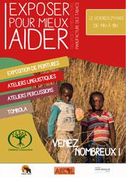 Affiche Exposer pour mieux aider - Université Jean Moulin Lyon 3