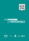 Programme colloque Chantiers Mémorable