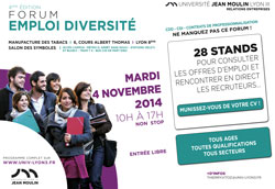 Forum Emploi Diversité 2014