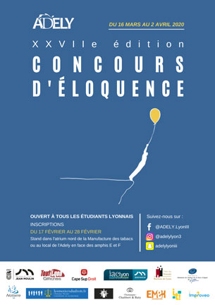 Concours éloquence 2020
