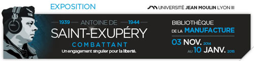 Exposition autour d'Antoine de Saint-Exupéy