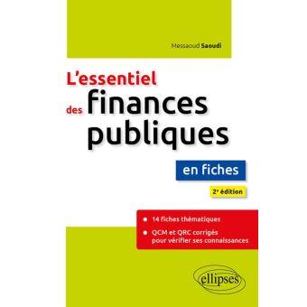 L'essentiel des finances publiques en fiches