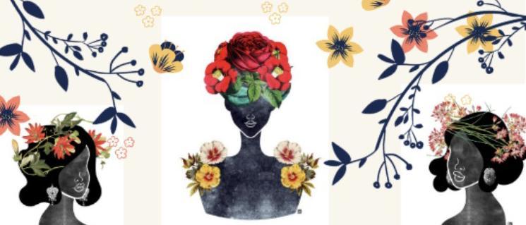 Les mille couleurs des femmes par Makeda Saba