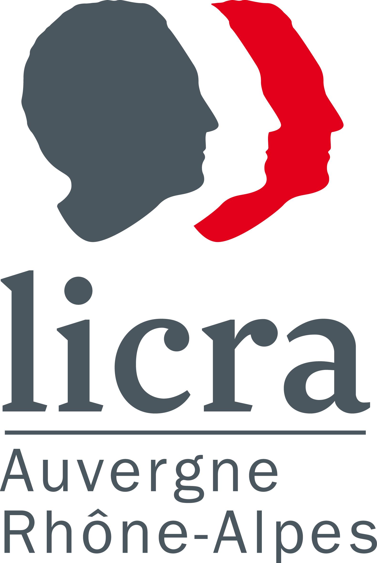 Logo LICRA Auvergne Rhône-Alpes