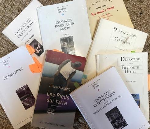 Sexe F. - Couvertures des livres lus