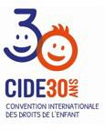 Logo CIDE 30 ans - Convention Internationale des Droits de l'Enfant