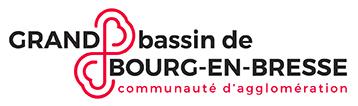 Logo Grand bassin de Bourg-en-Bresse - Communauté d'agglomération
