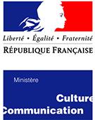 Liberté, Egalité, Fraternité - République Française - Logo du Ministère de la Culture et de la Communication