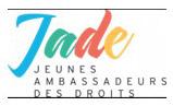 Logo JADE Jeunes Ambassadeurs des Droits des Enfants