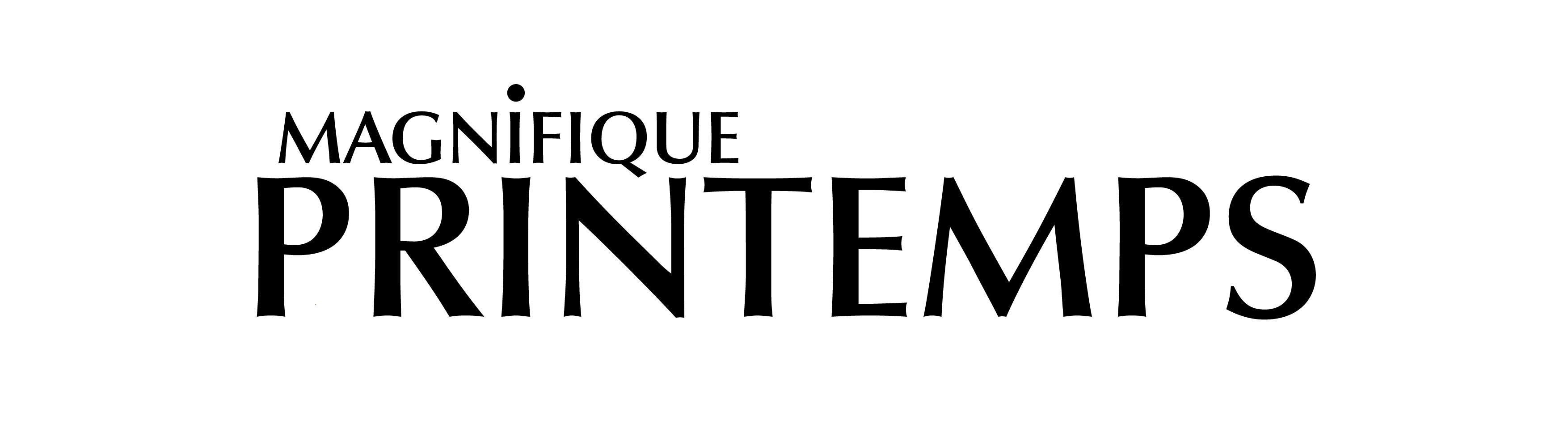 Logo Magnifique Printemps