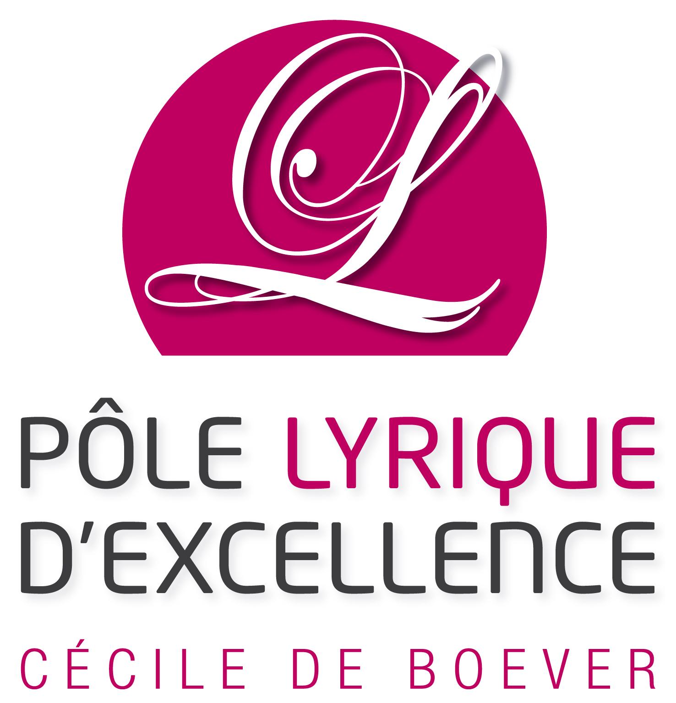 Logo Pôle Lyrique d'Excellence - Cécile de Boever