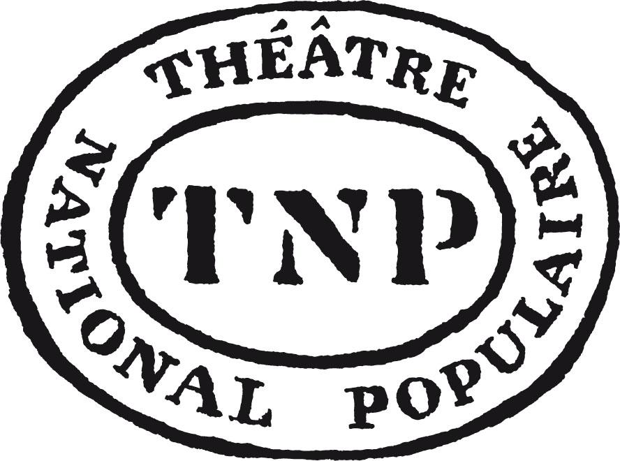 Logo TNP Théâtre National Populaire