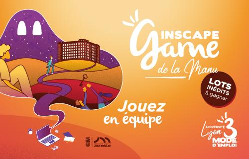 Affiche de l'Inscape game