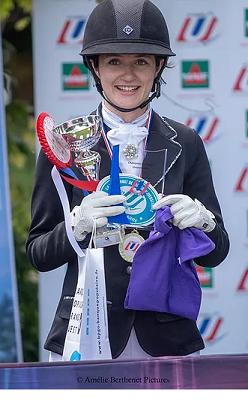 Margaux Tonadre : Championne de France Universitaire de dressage