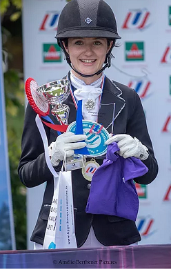 Margaux Tonadre : Championne de France Universitaire de dressage