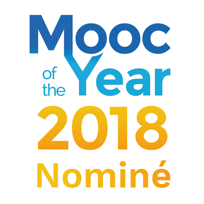 Nominé Mooc of the Year 2018