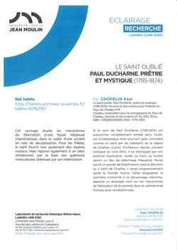 Le Saint oublié, Paul Ducharne