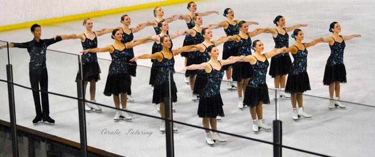 Photo patinage synchronisé Jessica Margitray - Lyon 3
