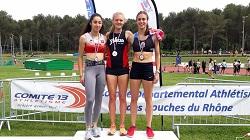 Podium 200 m Marion Couturier