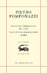 Pomponazzi, Traité de l'immortalité de l'âme