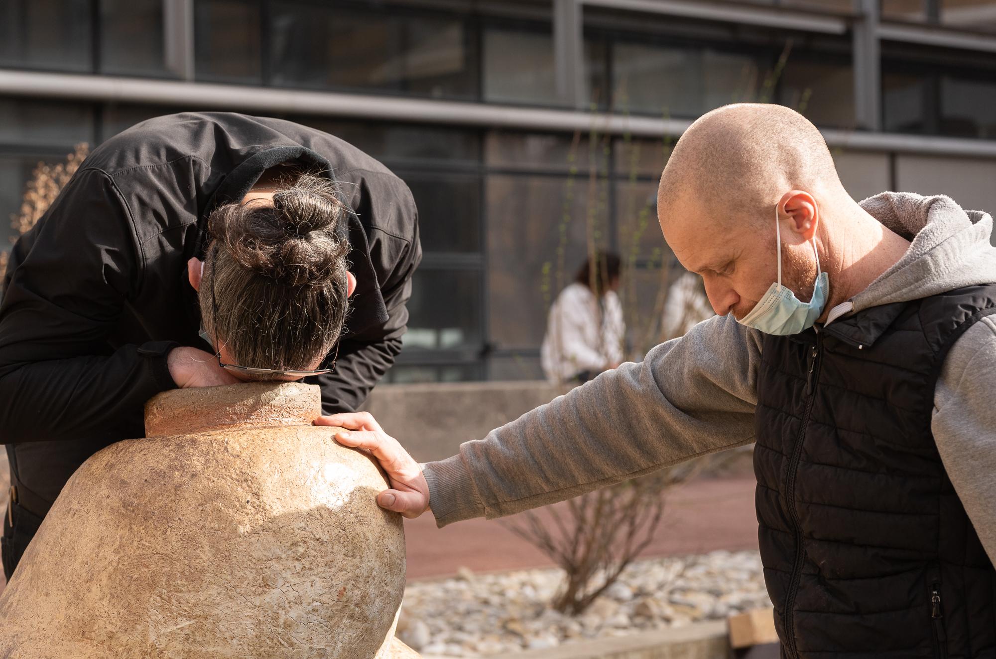 La main à la pâte © David VENIER - Université Jean Moulin Lyon 3